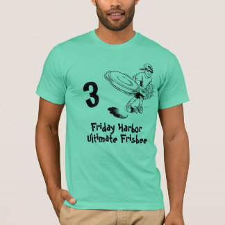 frisbee, Friday Harbor, Ultimate Frisbee, 3 T-Shirt