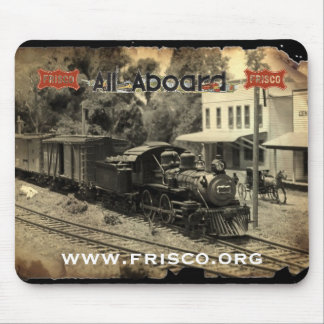 Frisco 151 arrives in Greebrier Mouse Pad