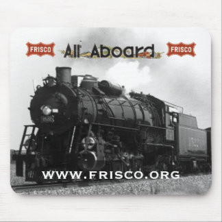 """Frisco 4-8-2 1522 """"Pride of the fleet"""" Mouse Pad"""