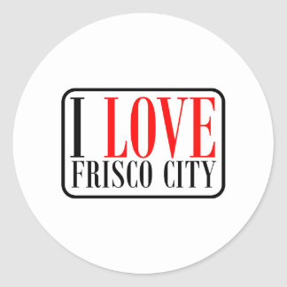 Frisco City Alabama Round Sticker
