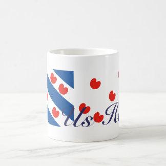 Frisian Flag Us Heit Mug