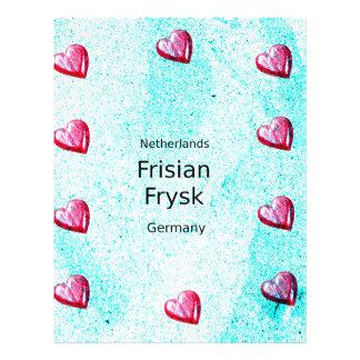 Frisian Language (Germany And Netherlands) Letterhead