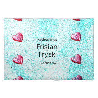Frisian Language (Germany And Netherlands) Placemat