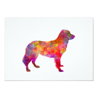 Frisian Pointer in watercolor Card