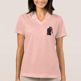 Frisian stallion. polo shirt