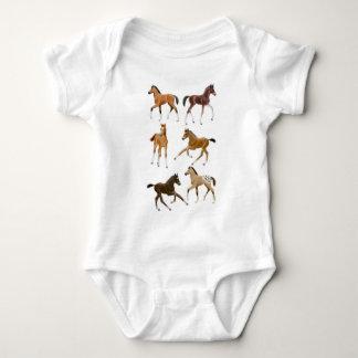 Frisky Horse Foals Baby One Piece Baby Bodysuit