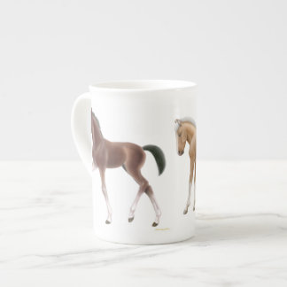 Frisky Little Foals Bone China Mug