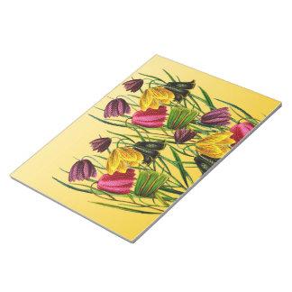 Fritillaria Flowers Notepad