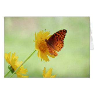 Fritillary Fun - Butterfly Card