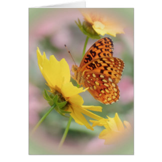 Fritillary World Card