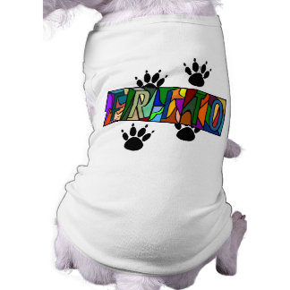 FRITO ~ PERSONALIZED BIG LETTER PET-WARE FOR DOGS! SHIRT