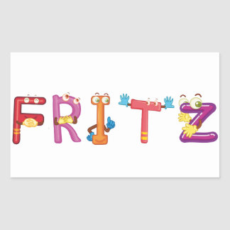 Fritz Sticker