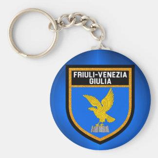 Friuli-Venezia Giulia Flag Keychain