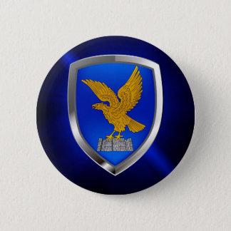Friuli Venezia Giulia Mettalic Emblem 2 Inch Round Button