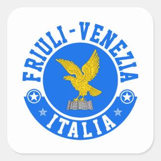 Friuli Venezia Italia Square Sticker