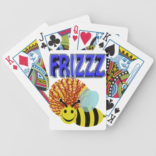 frizzz bee poker deck
