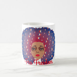 Fro Freedom Coffee Mug