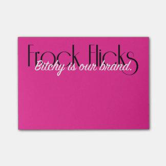 Frock Flicks Brand - Sticky Notes