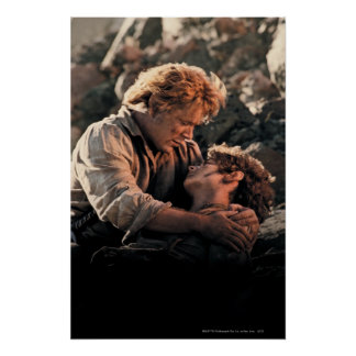 FRODO™ in Samwise's Arms Poster