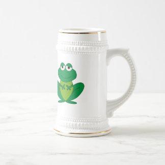 Frog 1 beer stein