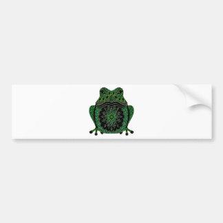 Frog 1 bumper sticker