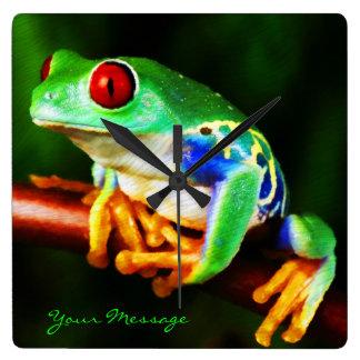 Frog 1 Clock
