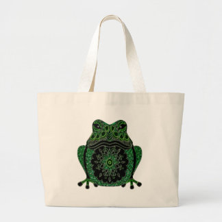 Frog 1 large tote bag