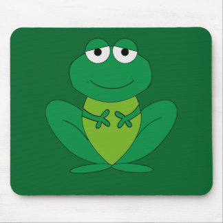 Frog 1 mouse pad