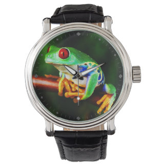 Frog  1 Watch & Numeral Options