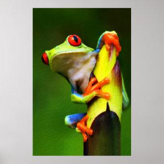 Frog 2 Print