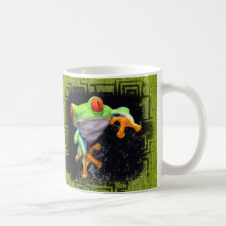 Frog 3 Bordered Options Coffee Mug