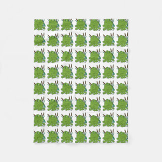 Frog 3 fleece blanket