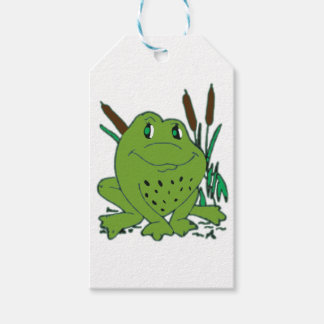 Frog 3 gift tags