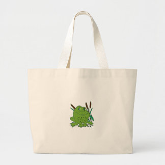 Frog 3 large tote bag