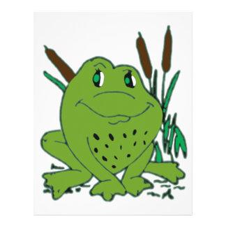 Frog 3 letterhead
