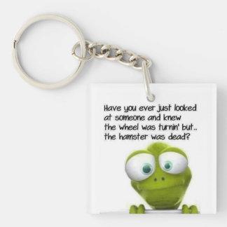 Frog Acrylic Keychain