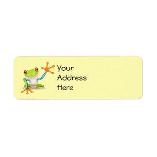 Frog Address Labels