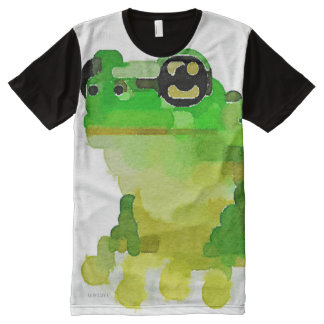 Frog All-Over Print T-shirt