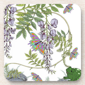 FROG AND BUTTERFLIES COASTER