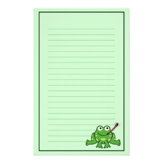 Frog and Fly Stationery