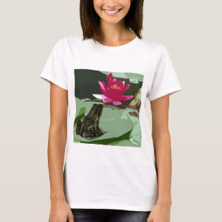 Frog and Lily pad art T-Shirt
