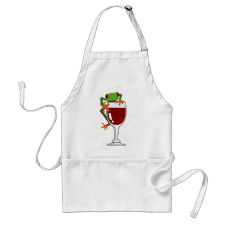 Frog and Wine Standard Apron