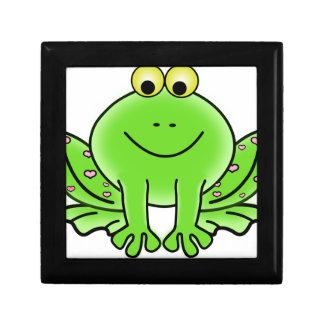 frog art inspiration green design gift box