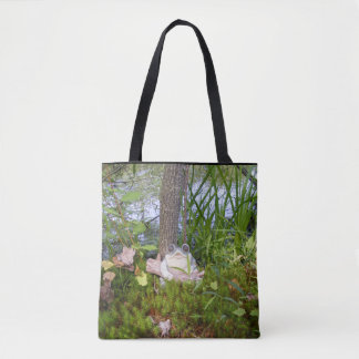 Frog at the Pond Tote Bag