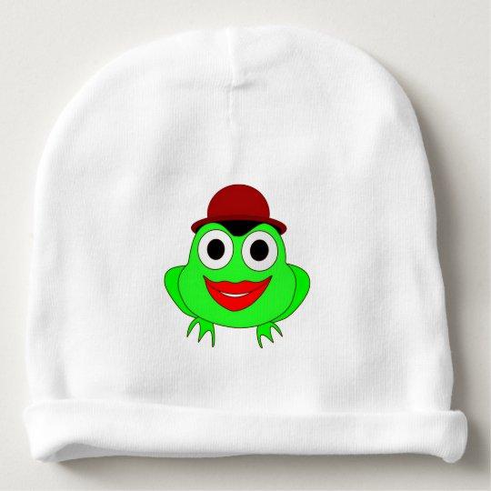 Frog Baby Beanie