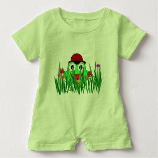 Frog Baby Romper