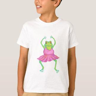 Frog Ballerina Kids' Shirt