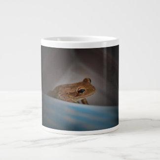 Frog behind blue neat animal amphibian photo jumbo mug