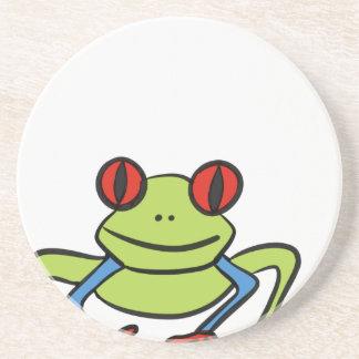 Frog Beverage Coasters