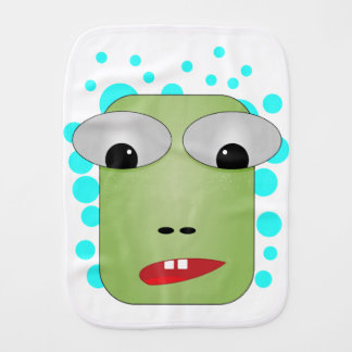 Frog Burp Cloth